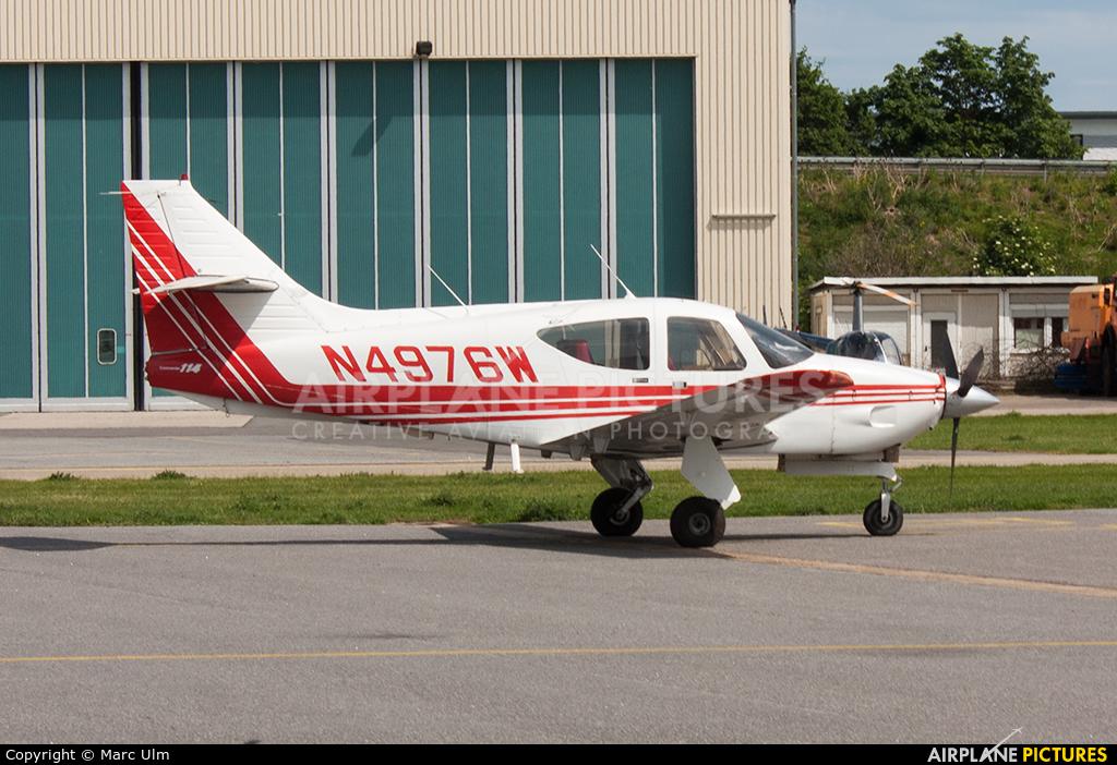 Private N4976W aircraft at Mannheim City