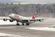 HB-JMK - Swiss Airbus A340-300 aircraft