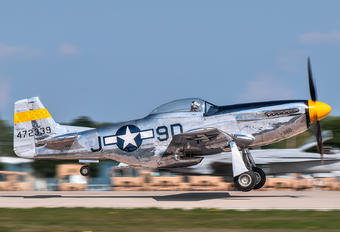 NL51JC - Private North American P-51D Mustang