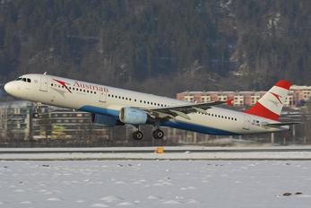 OE-LBB - Austrian Airlines/Arrows/Tyrolean Airbus A321