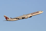 A7-AGB - Qatar Airways Airbus A340-600 aircraft