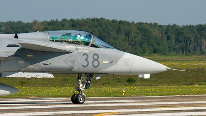 38 - Hungary - Air Force SAAB JAS 39C Gripen