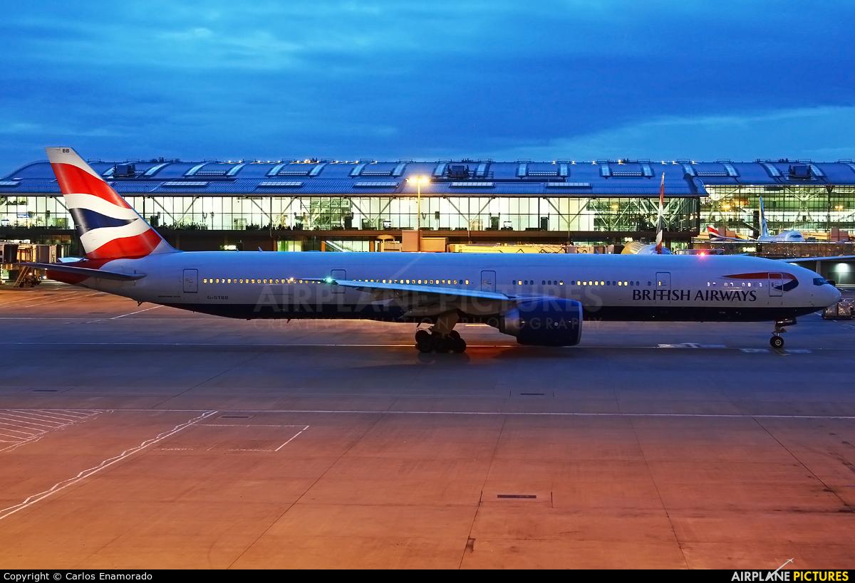 British Airways G-STBB aircraft at London - Heathrow