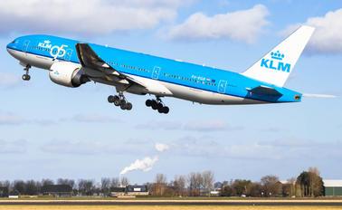 PH-BQB - KLM Boeing 777-200ER