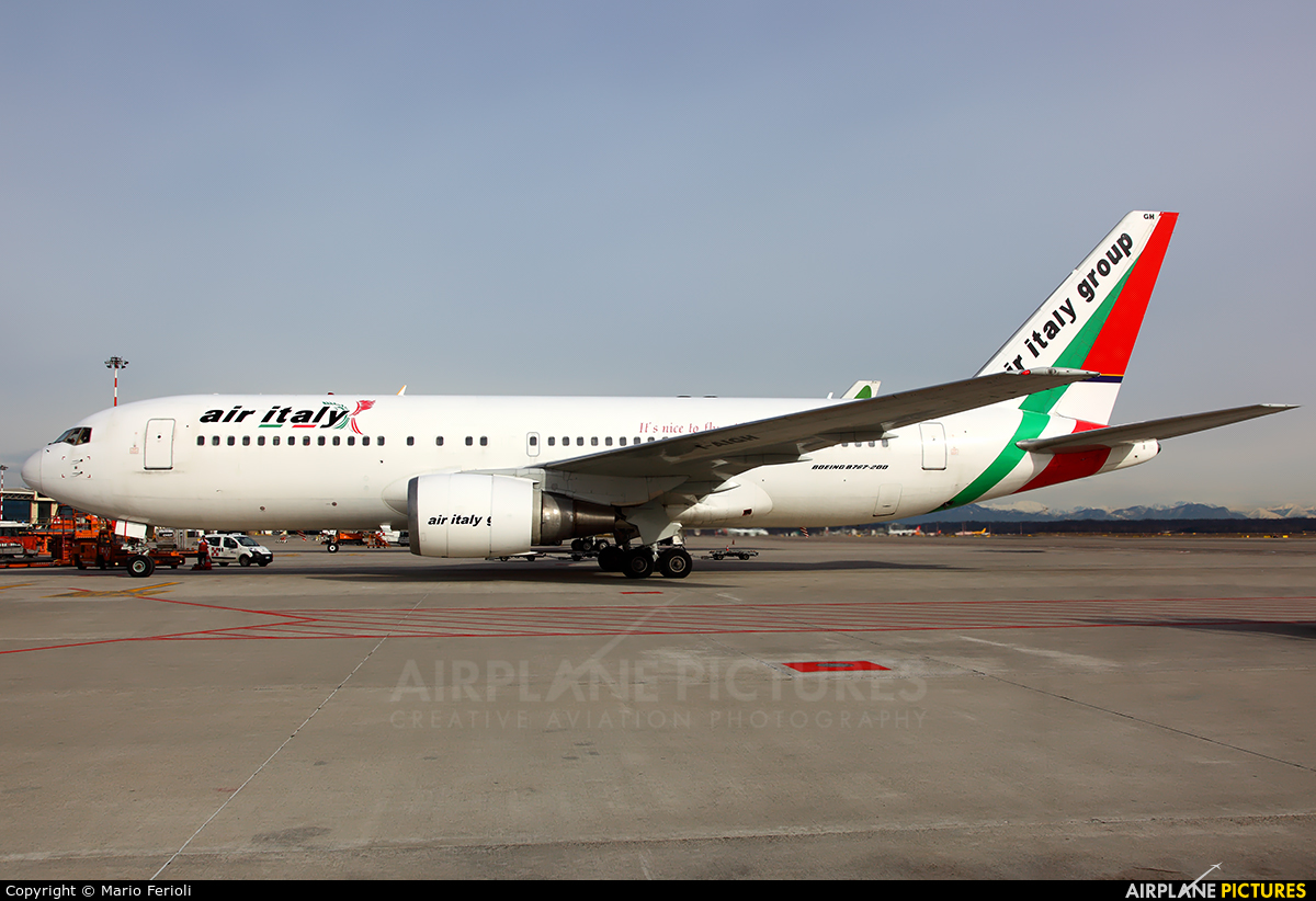 Air Italy I-AIGH aircraft at Milan - Malpensa