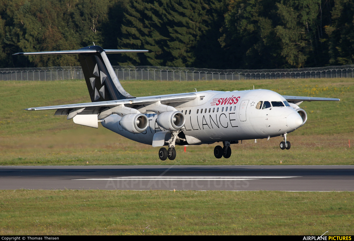 Swiss HB-IYU aircraft at Luxembourg - Findel