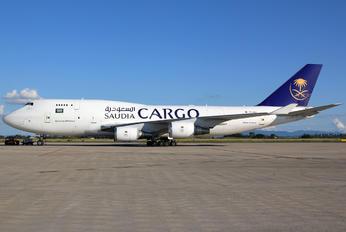 TC-ACF - Saudi Arabian Cargo Boeing 747-400BCF, SF, BDSF