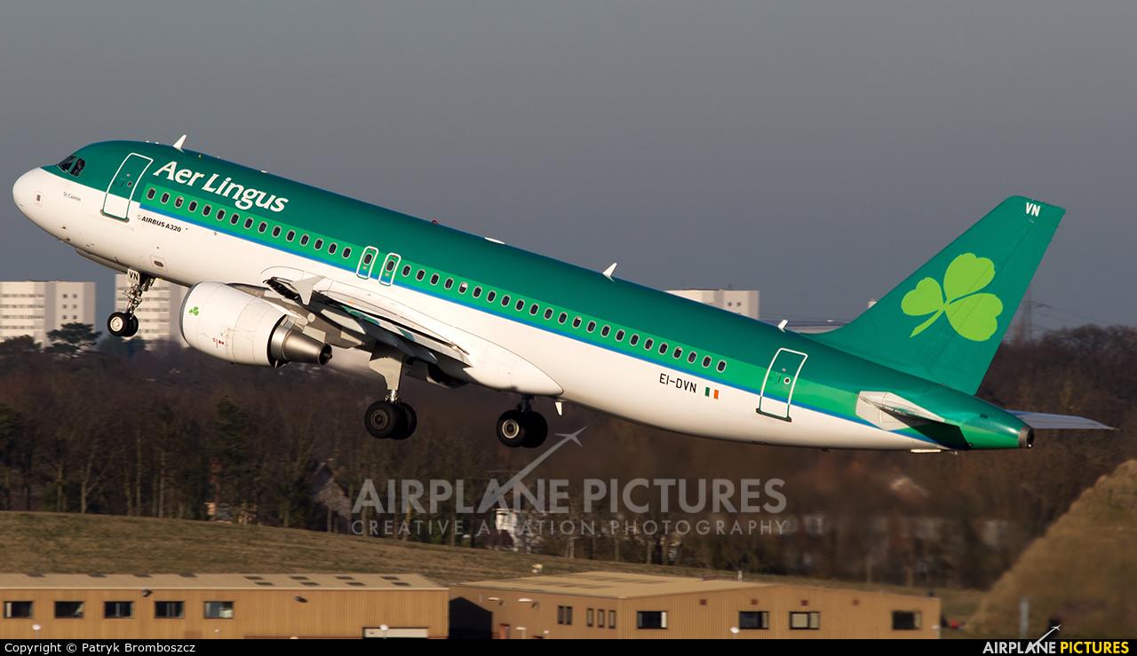 Aer Lingus EI-DVN aircraft at Birmingham