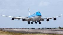 PH-BFY - KLM Asia Boeing 747-400 aircraft