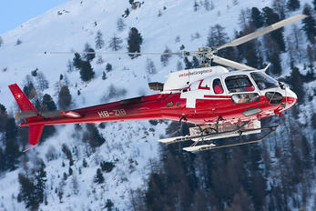 HB-ZIB - Swiss Helicopter Eurocopter AS350 Ecureuil / Squirrel