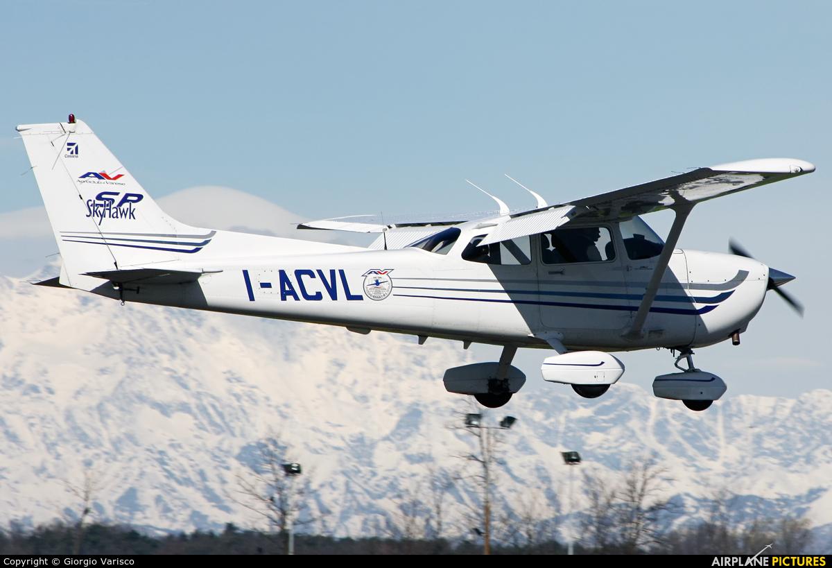 Private I-ACVL aircraft at Venegono