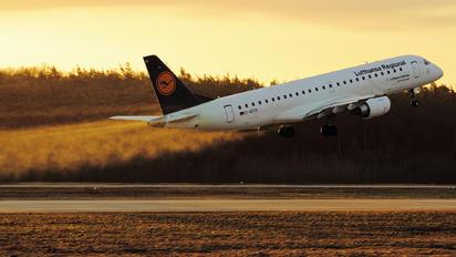 D-AECG - Lufthansa Regional - CityLine Embraer ERJ-190 (190-100)