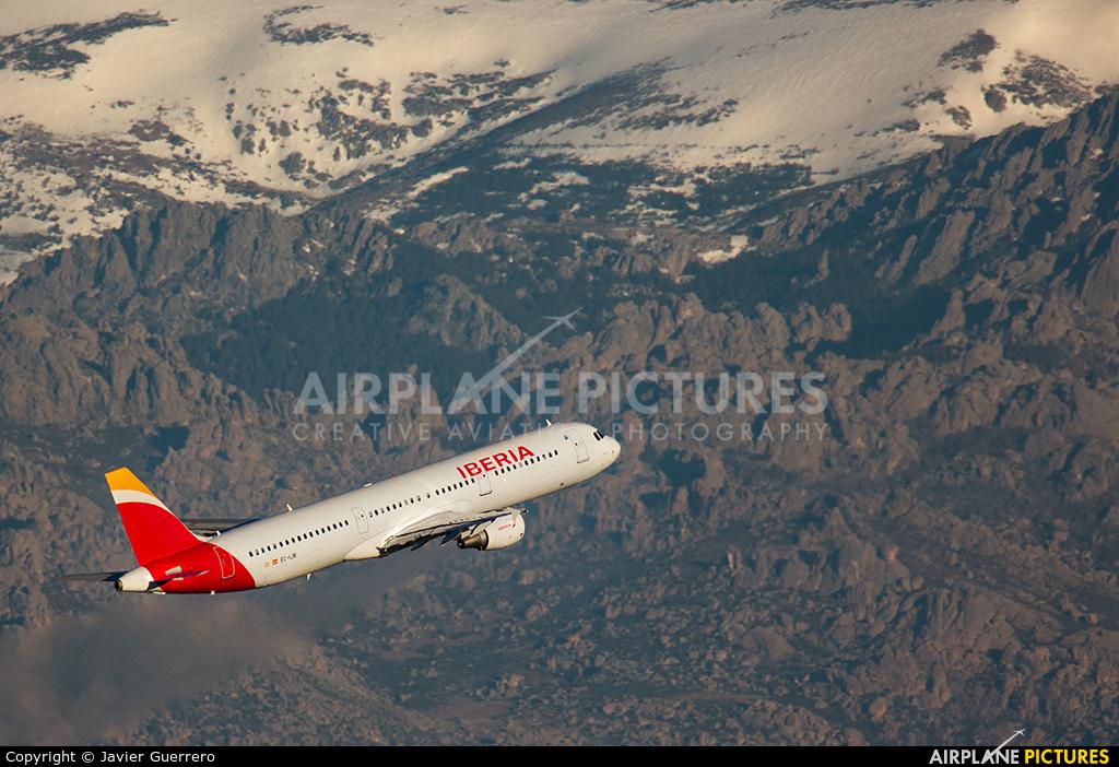 Iberia EC-IJN aircraft at Madrid - Barajas