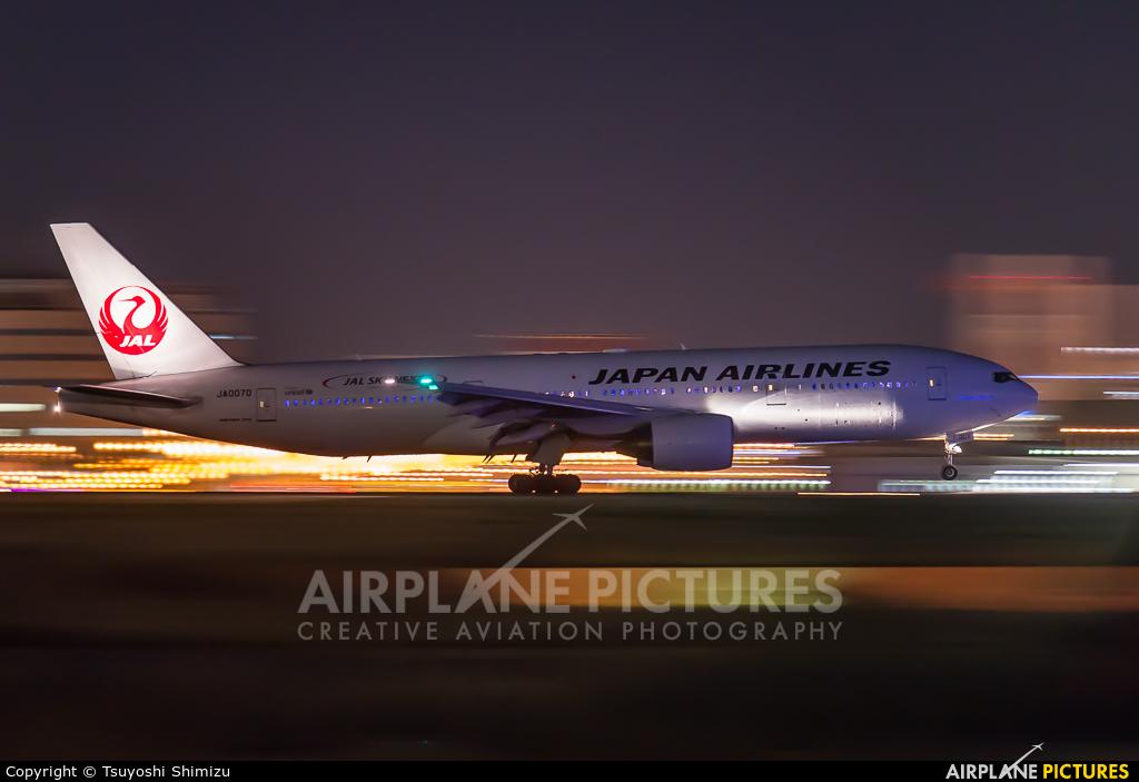 JAL - Japan Airlines JA007D aircraft at Tokyo - Haneda Intl