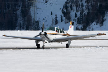 HB-EJM - Private Beechcraft 33 Debonair / Bonanza