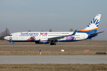 D-ASXG - SunExpress Germany Boeing 737-800