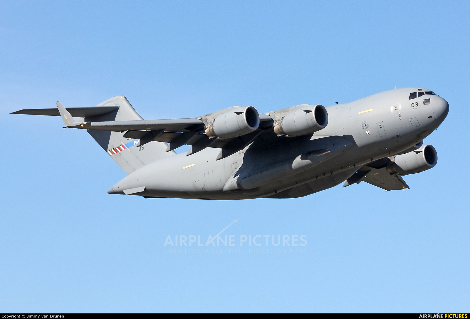 Heavy Airlift Wing (HAW) 080003 aircraft at Gilze-Rijen