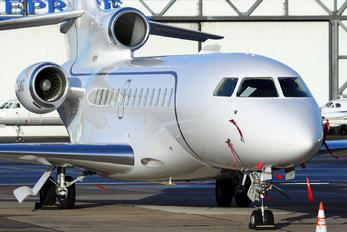 OO-LMG - Abelag Aviation Dassault Falcon 7X