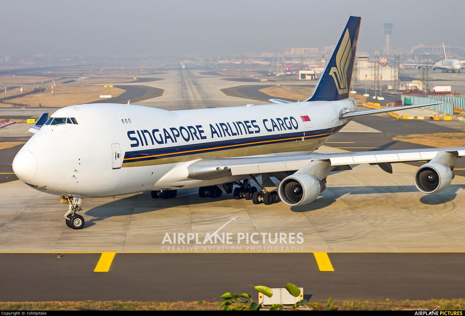 Singapore Airlines Cargo 9V-SFF aircraft at Mumbai - Chhatrapati Shivaji Intl