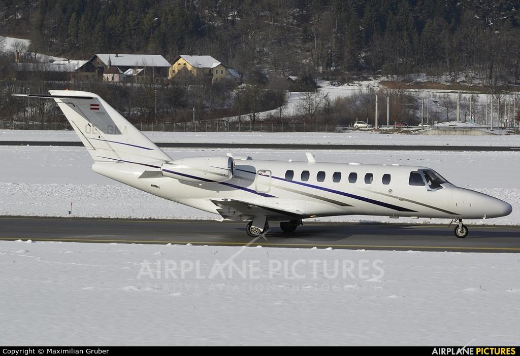 Austin Jet Holding OE-GNA aircraft at Innsbruck