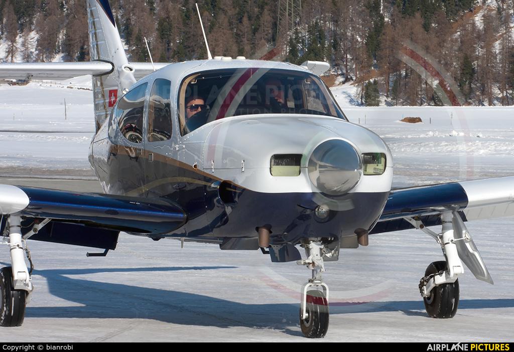Private HB-NCH aircraft at Samedan - Engadin