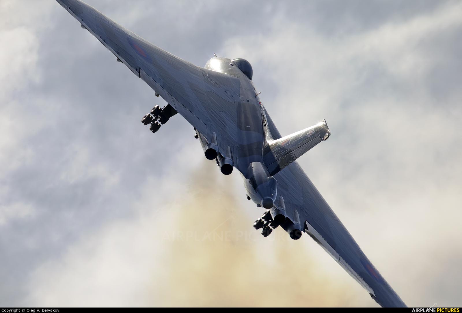 Vulcan to the Sky Trust XH558 aircraft at Farnborough