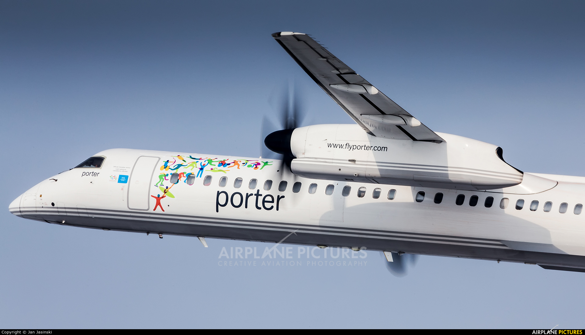 Porter Airlines C-GKQF aircraft at Montreal - Pierre Elliott Trudeau Intl, QC