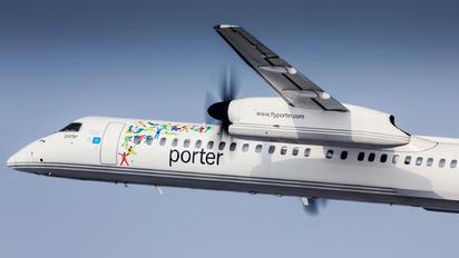 C-GKQF - Porter Airlines de Havilland Canada DHC-8-400Q Dash 8