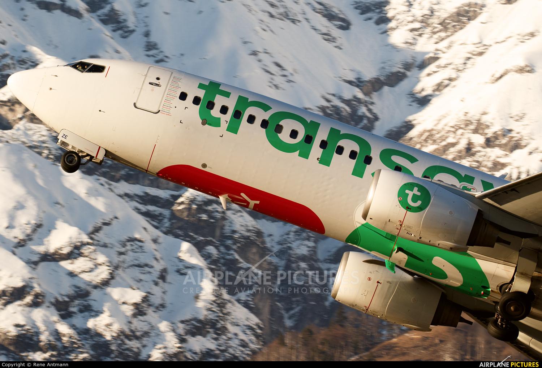 Transavia PH-HZE aircraft at Innsbruck