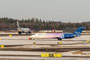 OH-BLQ - Blue1 Boeing 717 aircraft