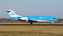 PH-KZS - KLM Cityhopper Fokker 70 aircraft
