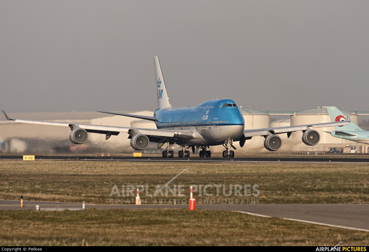 KLM PH-BFO aircraft at Amsterdam - Schiphol