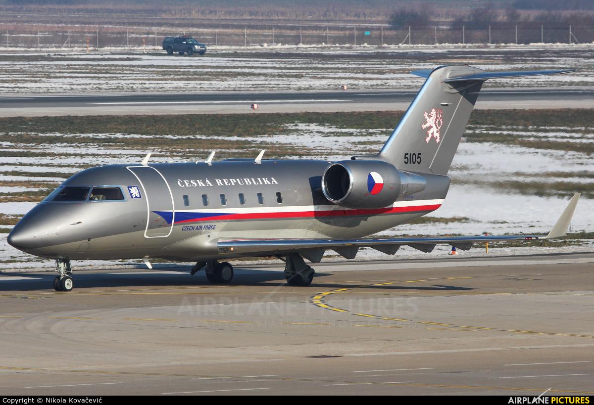 Czech - Air Force 5105 aircraft at Zagreb