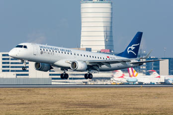 4O-AOD - Montenegro Airlines Embraer ERJ-190 (190-100)
