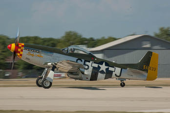 N251PW - Warbird Heritage Foundation North American P-51D Mustang