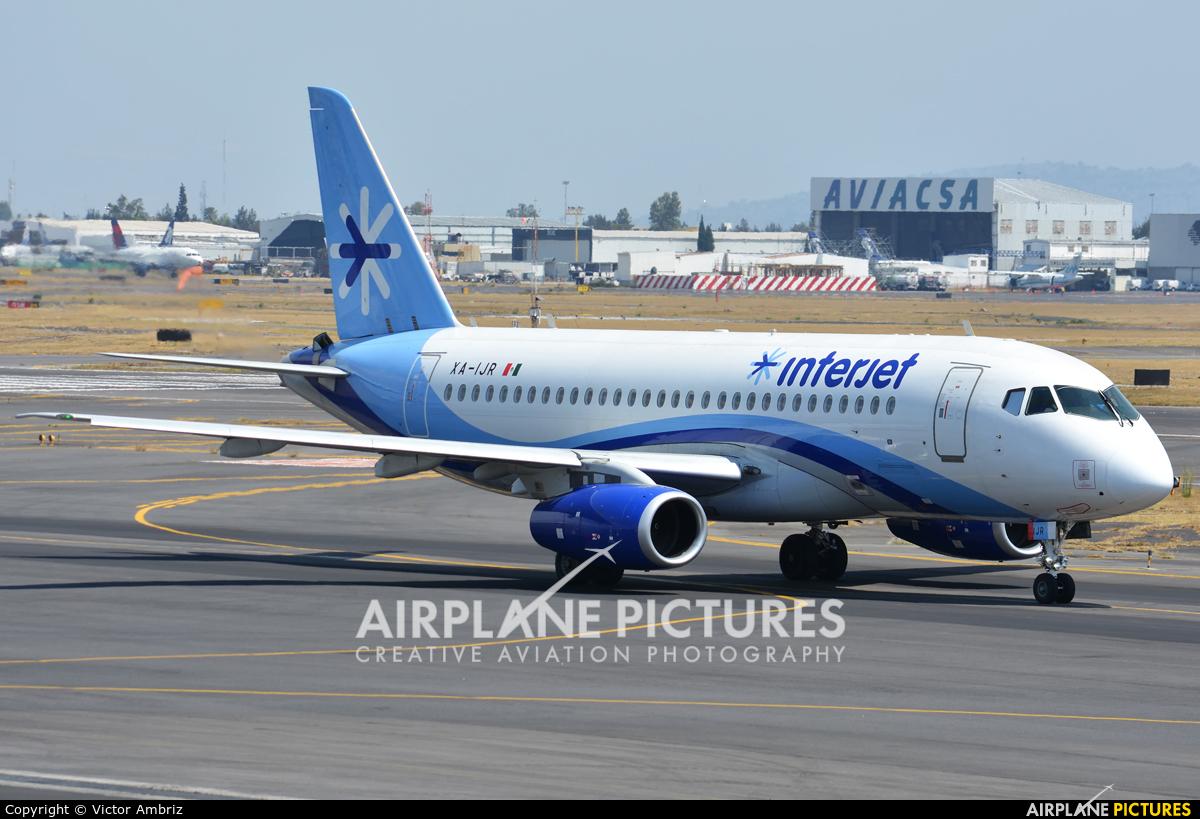 Interjet XA-IJR aircraft at Mexico City - Licenciado Benito Juarez Intl