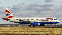 G-EUUJ - British Airways Airbus A320 aircraft