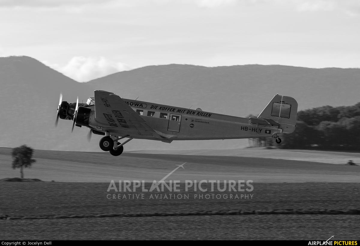 Ju-Air HB-HOY aircraft at Payerne
