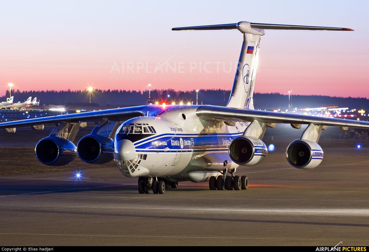 Volga Dnepr Airlines RA-76511 aircraft at Helsinki - Vantaa