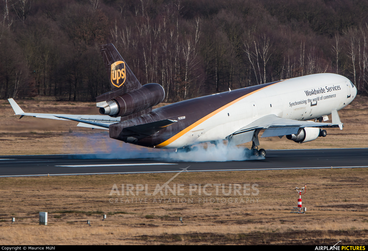 UPS - United Parcel Service N285UP aircraft at Cologne Bonn - Konrad Adenauer