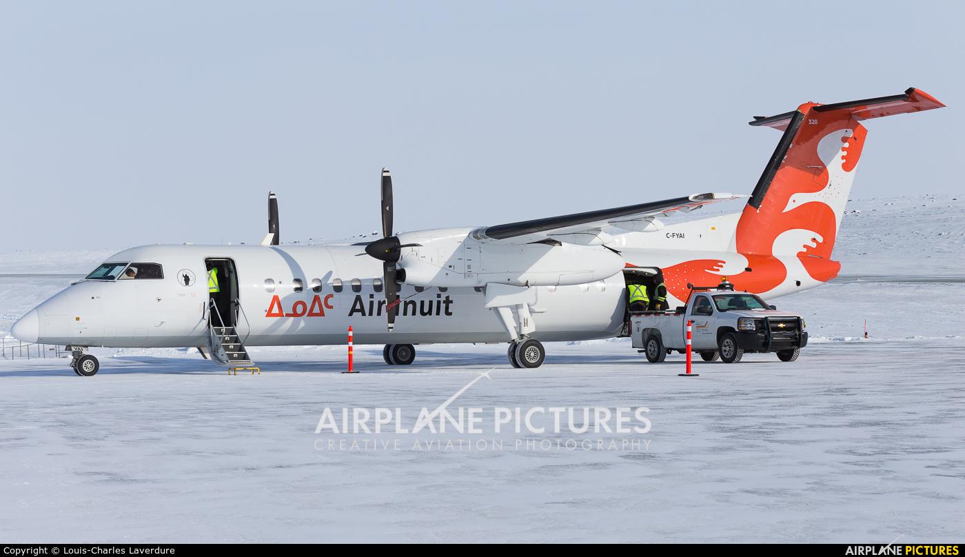 Air Inuit C-FYAI aircraft at Off Airport - Canada
