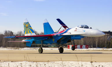 "12 - Russia - Air Force ""Russian Knights"" Sukhoi Su-27UB"