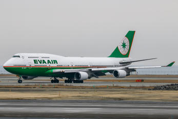 B-16411 - Eva Air Boeing 747-400