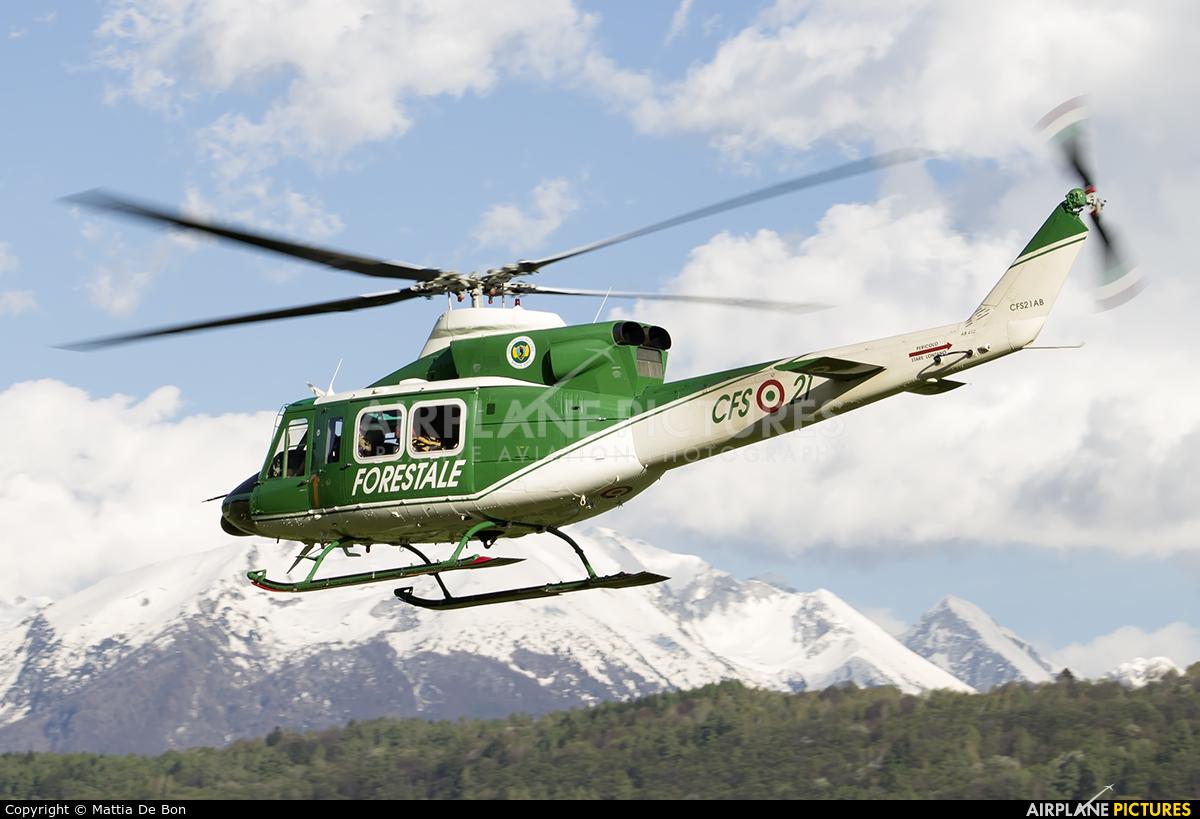 Forestale CFS21AB aircraft at Belluno - Arturo Dell