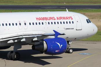 D-AHHF - Hamburg Airways Airbus A320