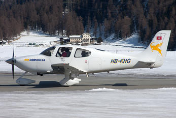 HB-KHG - Air Engiadina Cirrus SR22