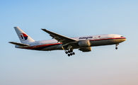 9M-MRO - Malaysia Airlines Boeing 777-200ER aircraft
