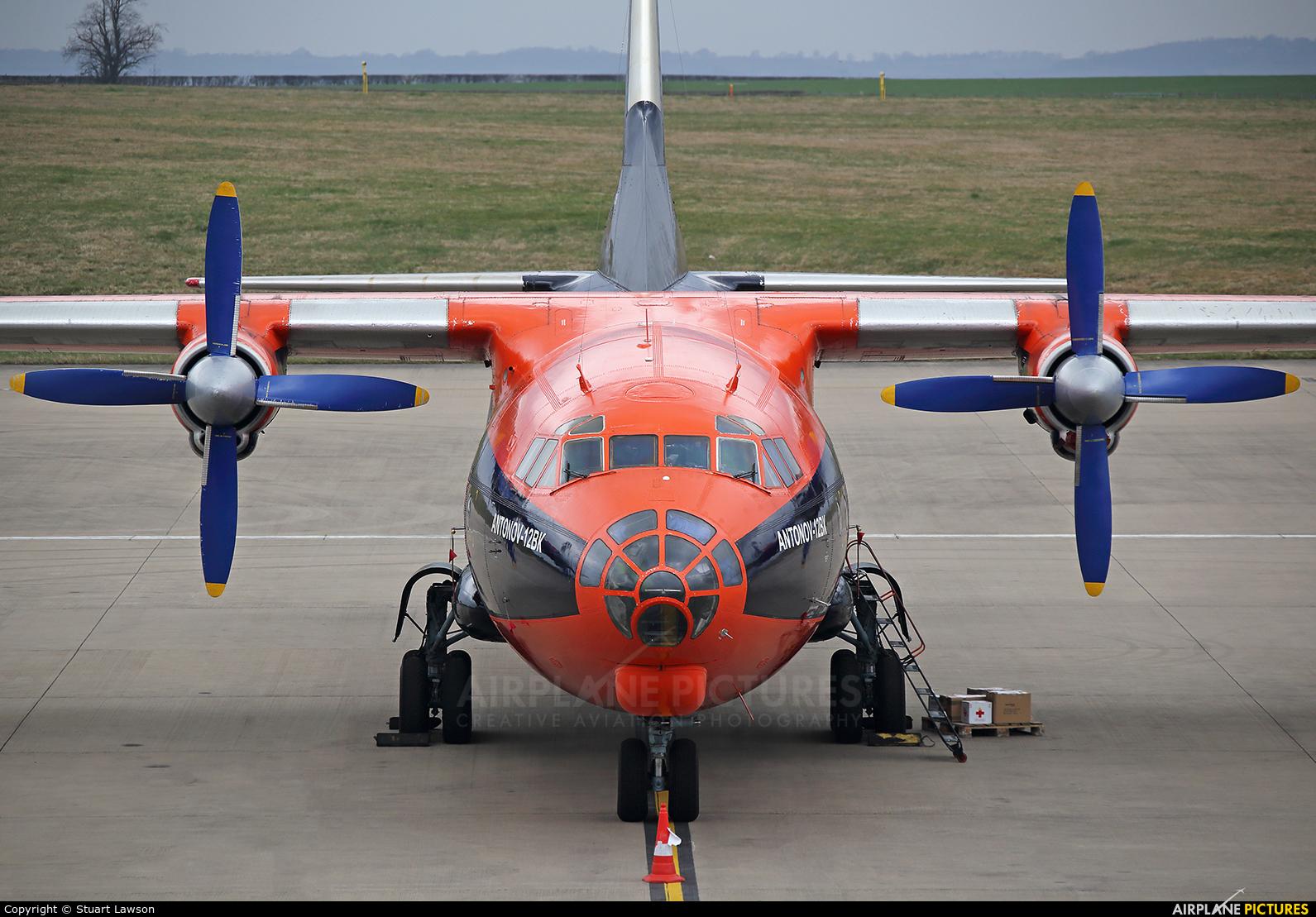 Cavok Air UR-CKL aircraft at East Midlands