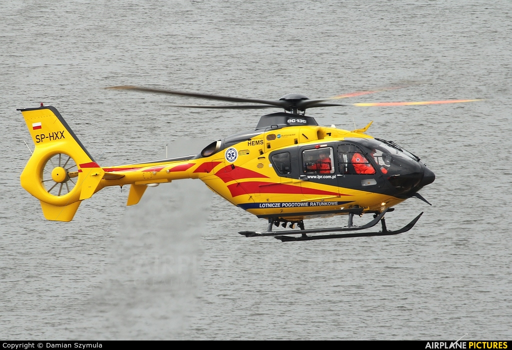 Polish Medical Air Rescue - Lotnicze Pogotowie Ratunkowe SP-HXX aircraft at In Flight - Poland