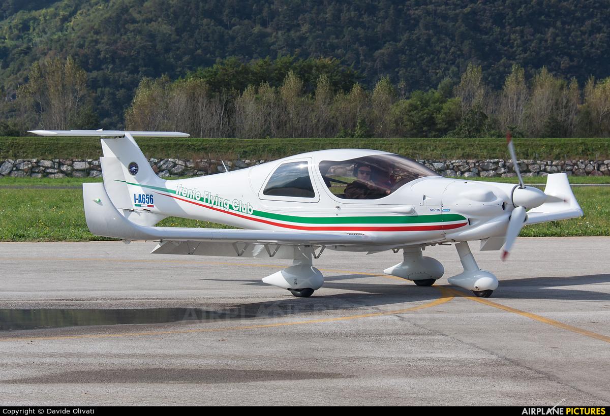 Private I-A656 aircraft at Trento - Mattarello